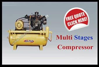 Multi stage compressor