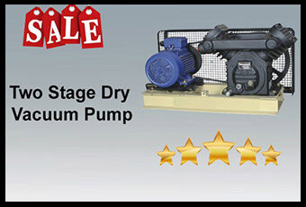two stage dry vacuum pump manufacturer in usa , Afghanistan,Taiwan,India, Kuwait