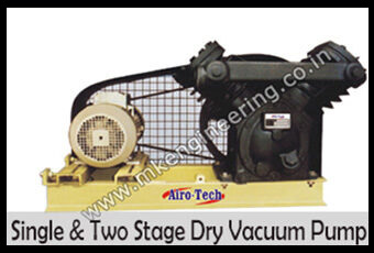 single two stage dry vacuum pump